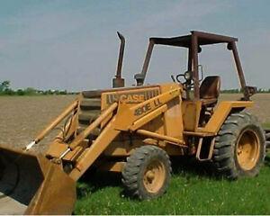 case 480 e ll 480e 480ell backhoe loader parts catalog manual rh ebay com Case 480F Loader Case 480F 4x4 Skip Loader