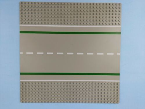 LEGO Straßenplatte  Road Plate Gerade Straight 32x32 80547pb01 2358pb04