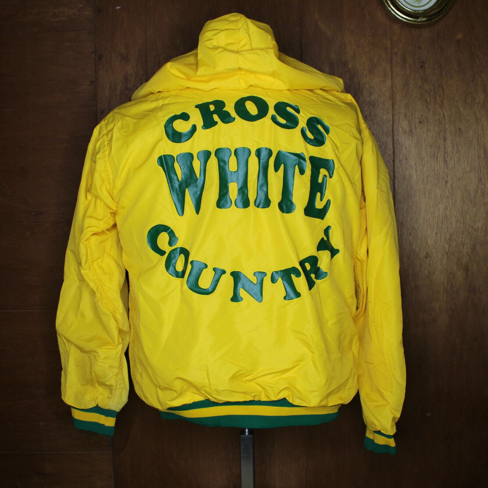 VTG 70s Russell Zip Hooded Jacket Medium School C… - image 1