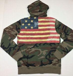 4da30ce67a1 Denim amp Supply Ralph Lauren Men Military US Army Skull Patches