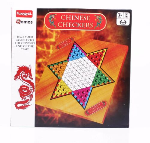 Funskool Chinese Checkers  Board Game 2-6 Players Indoor Game Age 7+