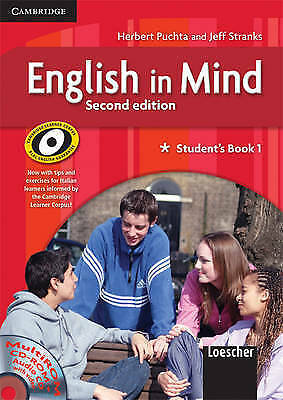 English in Mind 1 Student's Book and Workbook with MultiROM and Companion...