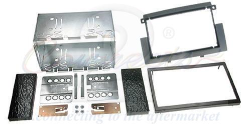 Connects2 Mitsubishi Colt 04-08 double din autoradio stéréo panneau avant kit de montage ct23mt