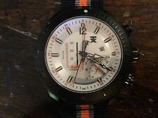 Timex TX Watch T3C313 Titanium with Nylon and Rubber Strap