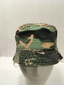 Image is loading BOYS-CAMO-ARMY-GREEN-BUCKET-HAT-12-24- e5b329877b7