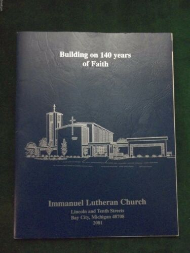 IMMANUEL LUTHERAN CHURCH BAY CITY MI PICTORIAL DIRECTORY 2001 MEMBERS 129
