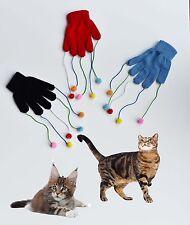 CAT/KITTEN PLAY GLOVE TEASER TRICK PLAYING FUN TOY ACTIVITY MITT