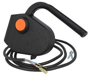 Genuine électrique Tondeuse Poignée Switch MX967//2 s/'Adapte Mountfield Princesse