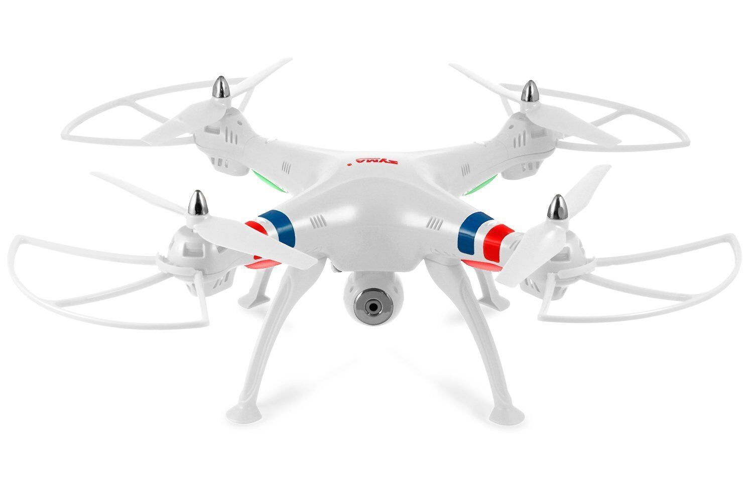 Syma X8C bianca 4 Channel RC Helicopter Drone with  teletelecamera 2.4 Ghz Quadcopter  a prezzi accessibili
