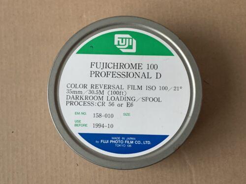 RARE Super Film Fujichrome 100 Professional D 35mm 100'ft Bulk Roll E6 Frozen