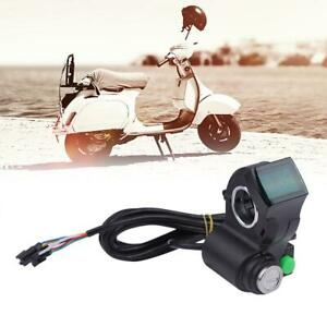 E-Bike-Thumb-Accelerator-Display-Battery-Voltage-Key-Lock-With-Power-Switch-1Pcs