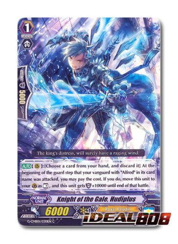 Cardfight VANGUARD /& DELETOR x 4 Knight of Gale Hudibras C Mi G-CMB01//030EN