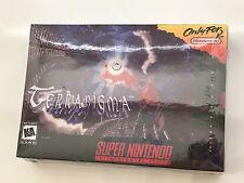 Terranigma (Super Nintendo SNES, 1996) Timewalk Games NEW SEALED FIRST EDITION