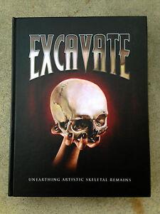 EXCAVATE-Unearthing-Artistic-Skeletal-Remains-TATTOO-amp-ART-BOOK-Tattoos-SKULLS