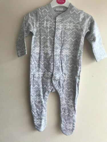 Ex MotherCare 100/% Cotton Baby Girls Boys Sleep suits /& Fleece Baby Grows Romper