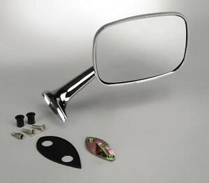 75 thru 79 Corvette Outside Mirrors With Mounting Kits NEW