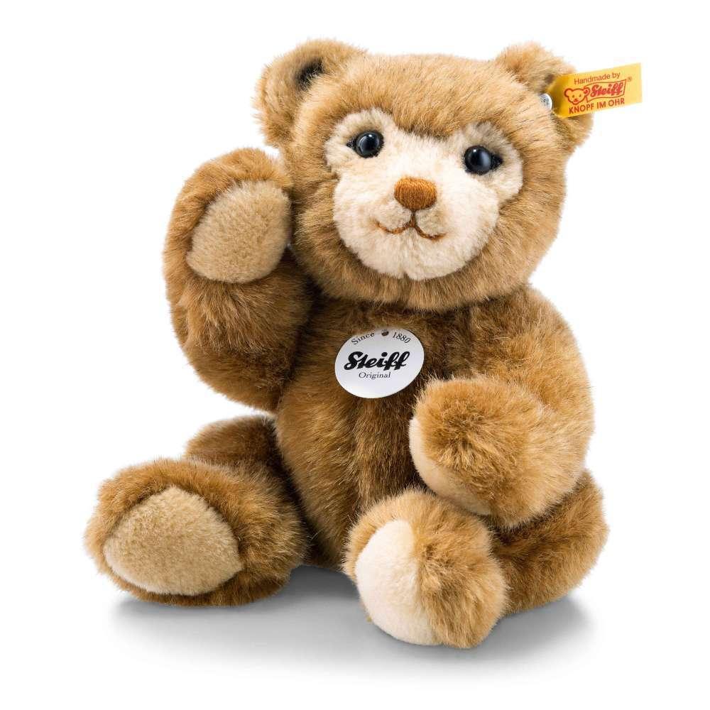 STEIFF 023637 Chubble Teddybär 25cm braun 5fach gegliedert Teddy Bär