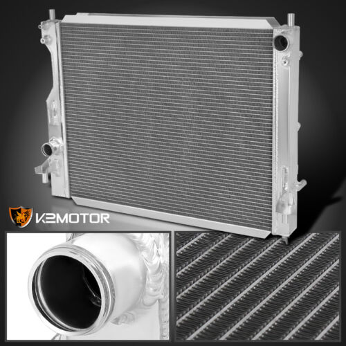 Fit 05-10 Ford Mustang Manual Transmission MT 3-Row Aluminum Cooling Radiator