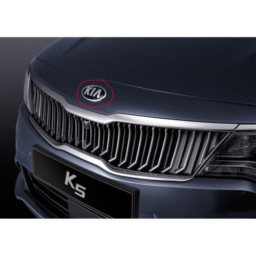 Genuine OEM 2011~2018 Kia Optima Front Bumper Emblem Hood Kia Logo Mark Badge