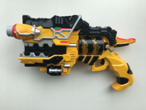 Power Rangers Kyoryuger Set Gabu Revolver Gun Morpher Dino Charge 2 pcs JAPAN