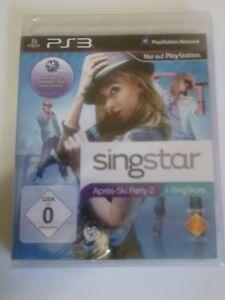 PS3 Singstar Apres-Ski Party 2 in OCP-Box mit Booklet - Deutschland - PS3 Singstar Apres-Ski Party 2 in OCP-Box mit Booklet - Deutschland