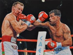Arturo Gatti VS Micky Ward Boxing Art Silk poster 8x12 12x18