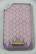 BNWT Burberry Iphone 5s Lilac Purple Luxury Soft Leather Sleeve 100% Authentic