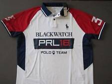Ralph Lauren Polo BLACKWATCH Team Custom Fit Jersey Polo Shirt XXL Genuine NWT