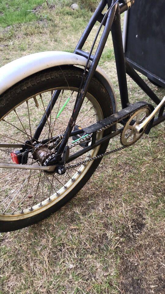 Ladcykel, 3 gear