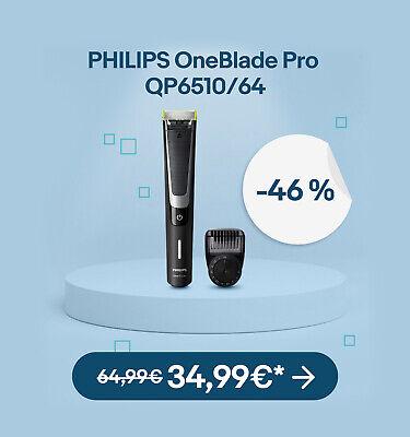 PHILIPS OneBlade Pro QP6510/64 - 39,99€