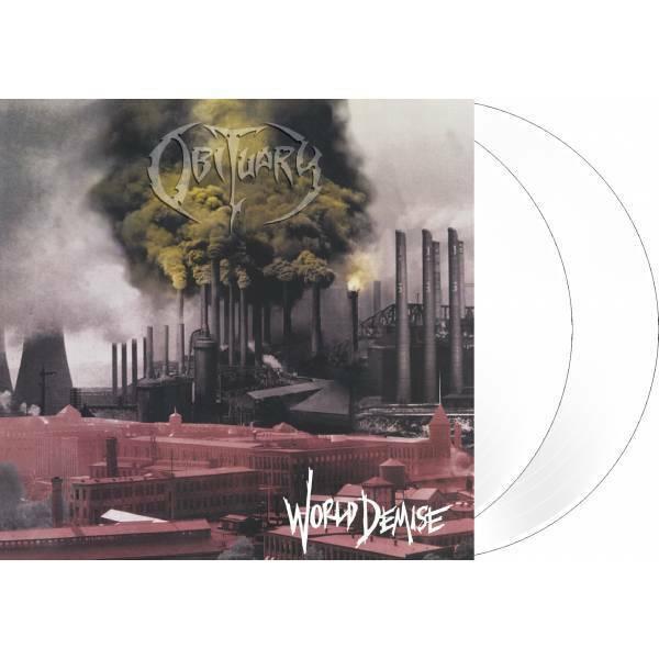 OBITUARY - World Demise DLP white Vinyl ltd. 500 NEUWARE