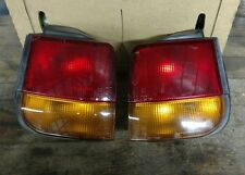 EAGLE SUMMIT WAGON TAIL LIGHTS (BOTH L/R) BULBS INCLUDED OEM 1995