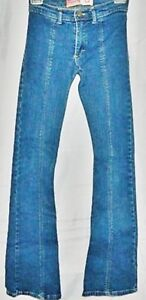 KSK-Jeans-Slim-Skinny-Boot-Cut-Stretch-Blue-Denim-Pants-size-24
