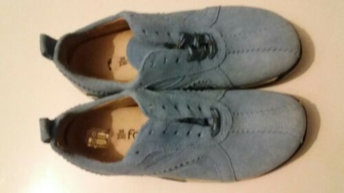 REDUCED FOOTPRINTS LIC. SUEDE SHOES 36 RRP $110 SAVE $30