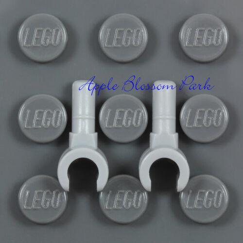NEW Lot//2 Lego Light Bluish GRAY MINIFIG HANDS Star Wars Minifigure Glove Pair