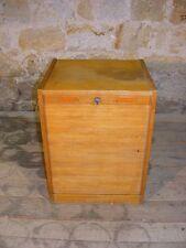 Schöner alter Rollschrank Büroschrank, Aktenschrank, Holzschrank