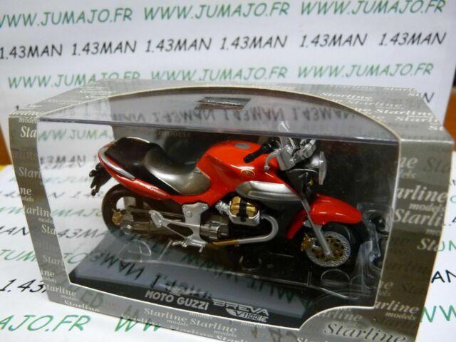 Moto Guzzi Breva V1100Ie Red Starline 1:24 STR99012 Model