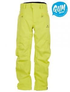 Rip-Curl-CORE-GUM-SNOW-PANT-Mens-20K-20K-Snowboard-Ski-Pant-SCPBB4-Sulphur-Green
