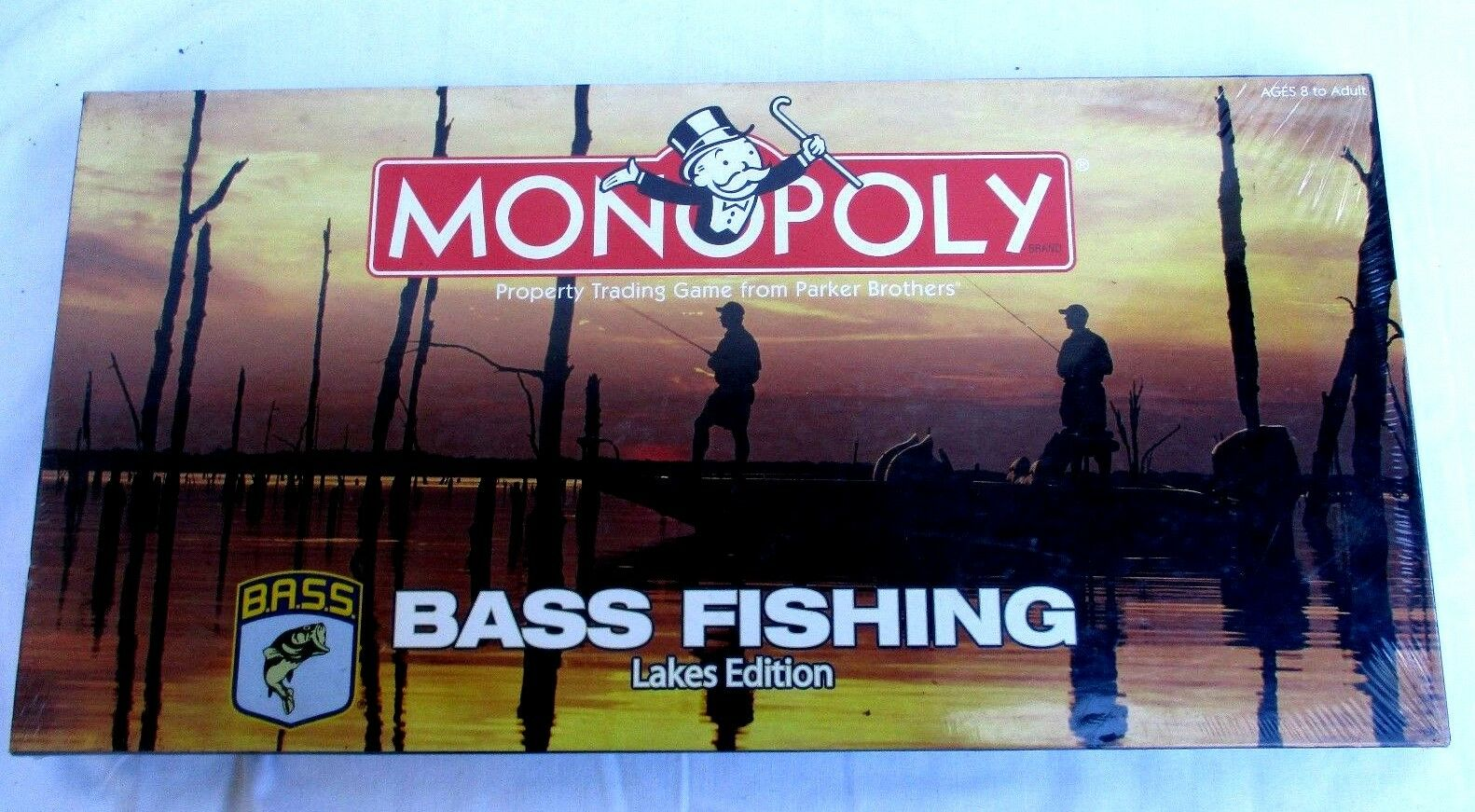MONOPOLY..BASS FISHING..LAKES EDITION..GAME..FACTORY SEALED NEW