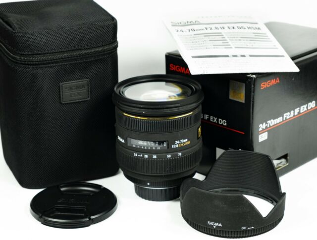 Sigma EX 24-70mm f/2.8 IF HSM DG Lens - Nikon Fit lens