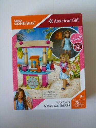 American Girl Mega Construx Kanani/'s Shave Ice Treats 78 pcs Set NIB