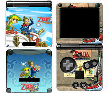 Zelda 120 Vinyl Decal Skin Protector Cover Sticker for Game Boy Advance GBA SP