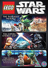 Star Wars Lego (Padawan Menace Empire Strikes Out Yoda Chronicles) Region 2 DVD
