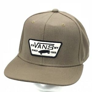 f832841d30 Image is loading VANS-Skateboard-Full-Patch-SnapBack-Hat-Cap-CA-