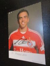 66722 Philipp Lahm FC Bayern München DFB druck sign. Autogrammkarte Werbekarte