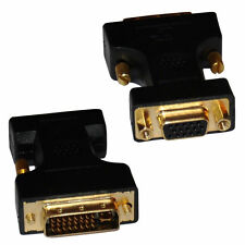 DVI TO VGA Adaptor DVI-A / SVGA HD15 Analog Monitor Cable Lead Converter GOLD