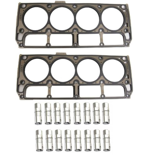 LS9 Head Gaskets and LS7 Lifters Set of 16 Fits 4.8 5.7 6.0 6.2 5.3 7.0