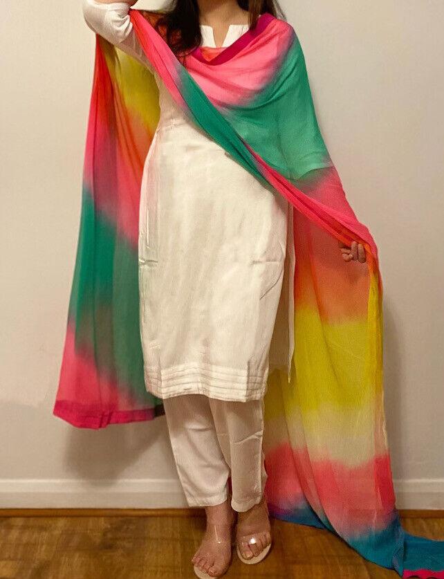 Multi Coloured Dupatta