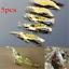 5PCS Soft Lures Bait Shrimp Fishing Simulation Prawn Saltwater Hooks Fish New