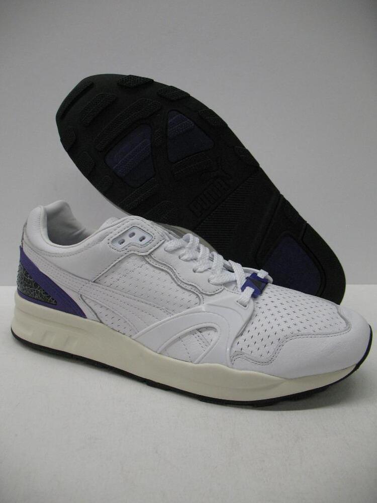 New PUMA 357774 Trinomic XT2+ CRKL athlétique chaussures Sneakers blanc Violet homme 11